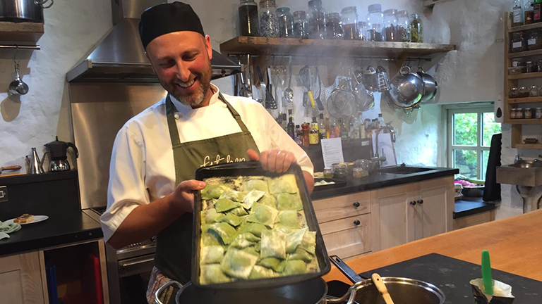 Forage, Cook and Feast at Fat Hen, near Penzance