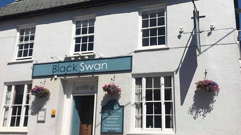 The Black Swan, Gweek
