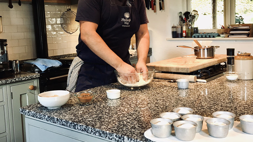 Cooking up Cornish Treats at Philleigh Way Cookery School