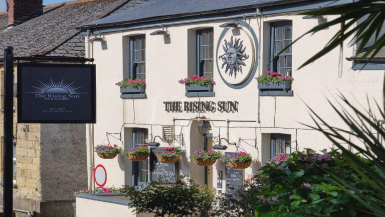 The Rising Sun Inn, St Mawes