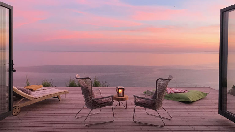 Sublime sunsets and the ultimate wind-down at Little Sur