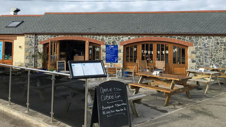 Coast Coffee Bar and Bistro on the Lizard Peninsula