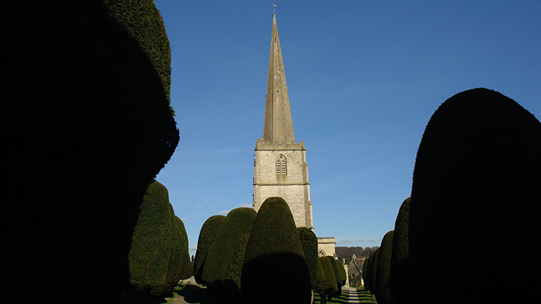 Painswick Churchyard, the Cotswolds