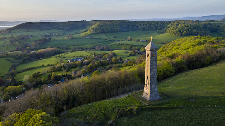 The Tyndale Monument, near Wotton-under-Edge