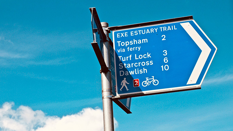 The Exe Estuary Trail
