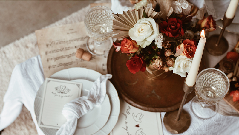 A Candlelit Picnic for Two | The Valentine's at Home Edit