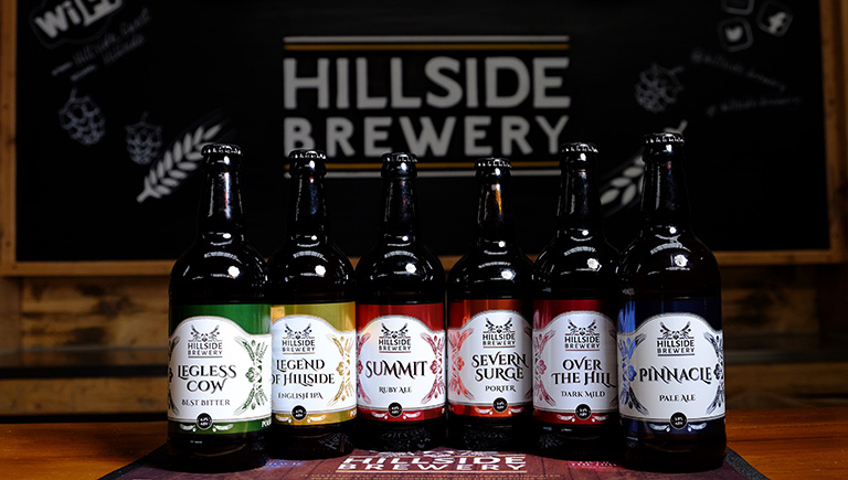 Hillside Brewery, Forest of Dean