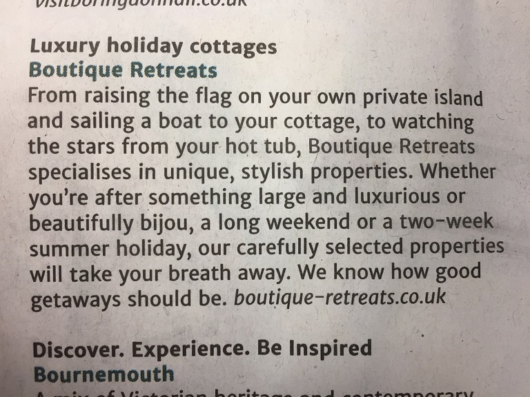 The Travel Guide- Luxury Holiday Cottages Write Up