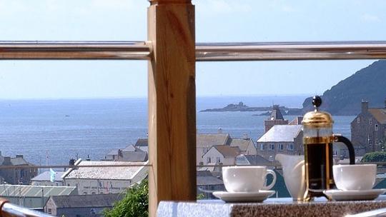 Fresh Coffee with a stunning vista