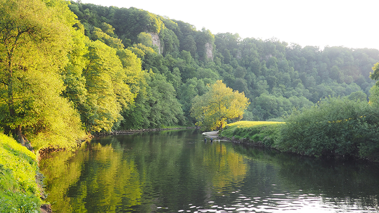Wild Swimming on the River Wye