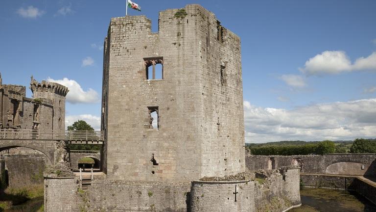 Raglan Castle, Raglan