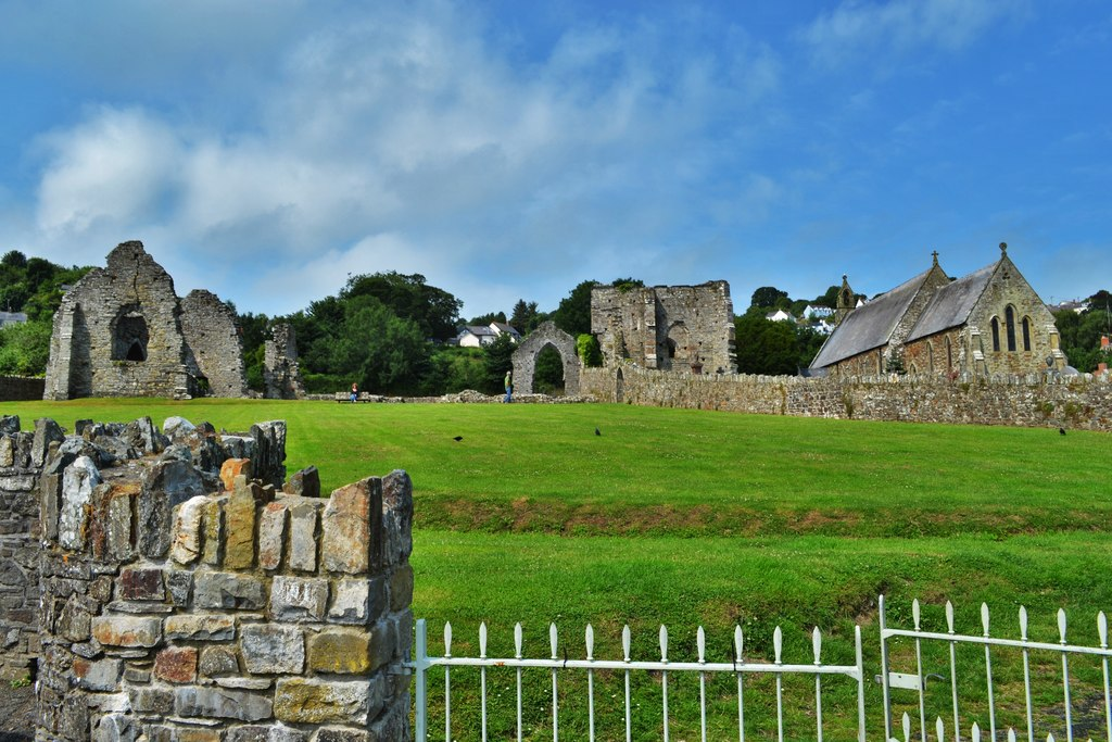St Dogmaels Abbey, Pembrokeshire