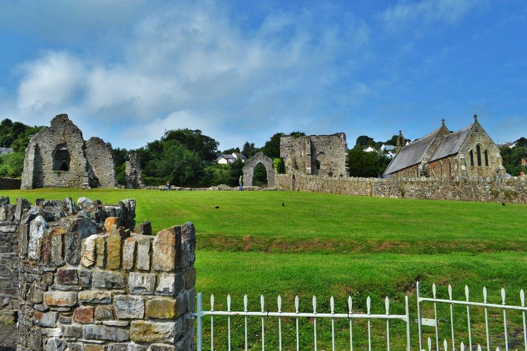 St Dogmaels Abbey, Pembrokeshire