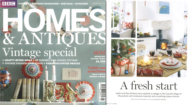 Homes & Antiques - January 2013
