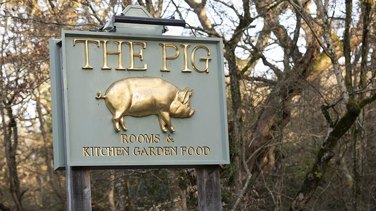 The Pig, Brockenhurst