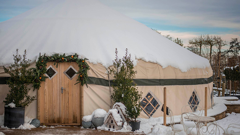 The Yurt at Nicholsons, North Aston